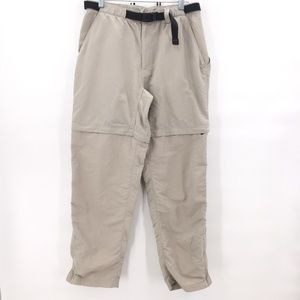 The North Face beige nylon active pant